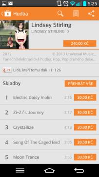 Můžete koupit celé album nebo jednotlivé skladby