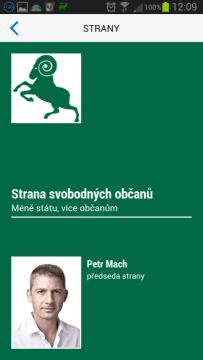 Profil politické strany