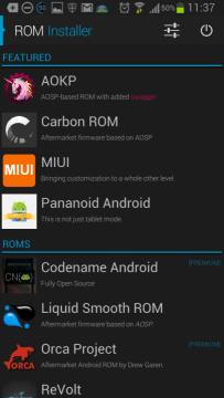 Nabídka ROMek pro Samsung Galaxy S III