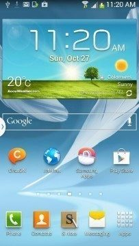 Android 4.3 pro Galaxy Note 2 N7100