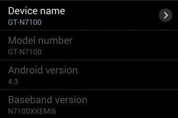 Unikl testovací firmware s Androidem 4.3 pro Galaxy Note II