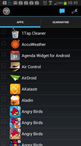 App Quarantine ROOT/FREEZE