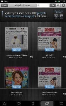 čtečka tisku - Press Reader (1)