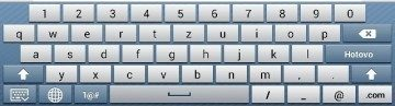 klávesnice Asus na šířku