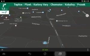 Asus MeMO Pad HD 7 - navigace noční mód
