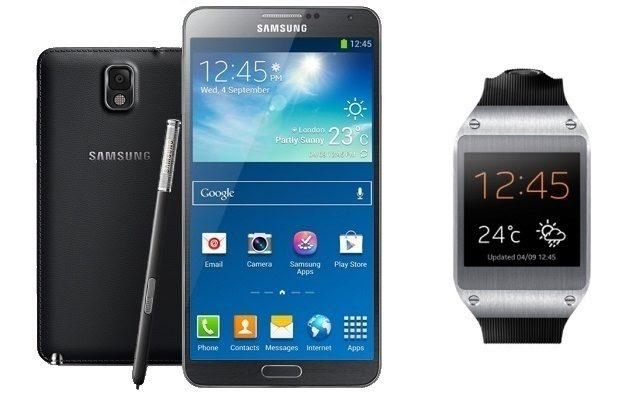 Galaxy Gear si rozumí pouze s Notem 3, což je velké omezení