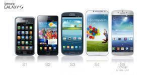 Koncept Samsungu Galaxy S5 dle Tobiase Hornofa ve srovnání s dosavadními modely