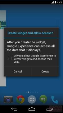 Launcher se jmenuje Google Experience