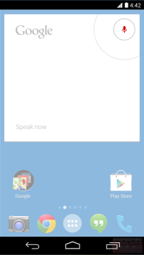 Hlasové zadávání v Androidu 4.4