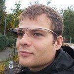 Google Glass na hlavě 1