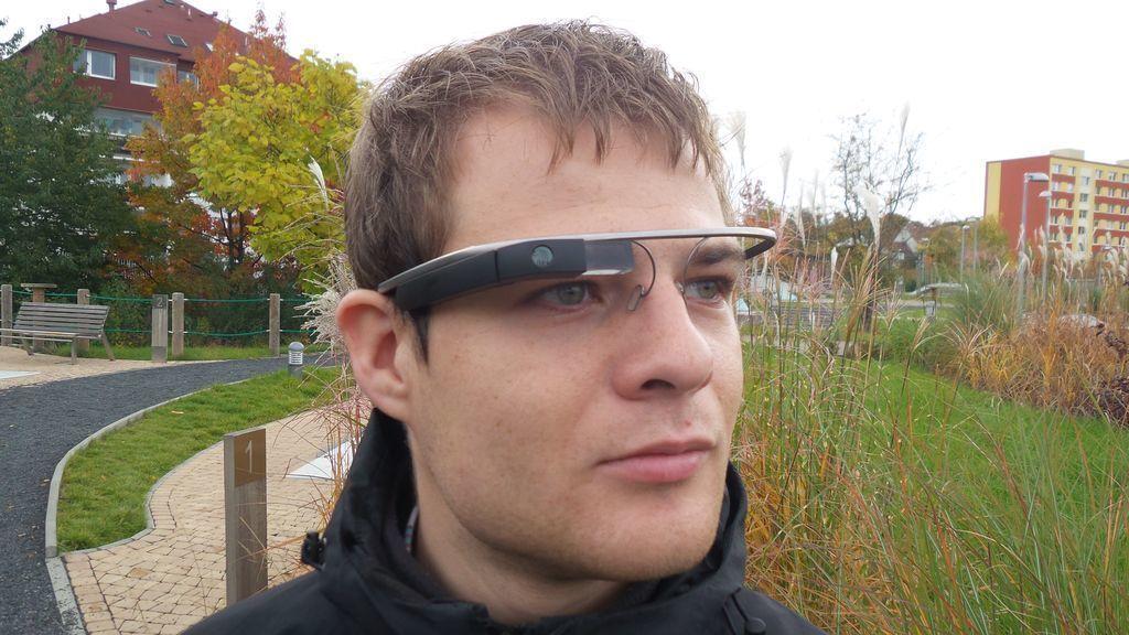 Google Glass na hlavě 2