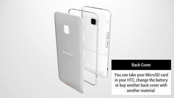 HTC One Tigon: Vyměnitelné kryty, baterie a slot pro microSD kartu