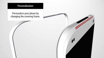 HTC One Tigon: Vyměnitelné kryty