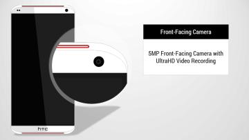 HTC One Tigon: 5Mpx přední kamera