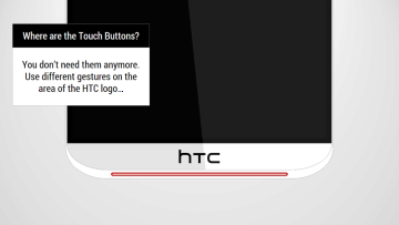 HTC One Tigon: Konec klasických tlačítek