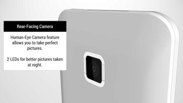 HTC One Tigon: Duální LEDový blesk