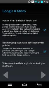 Lokalizační služby Google