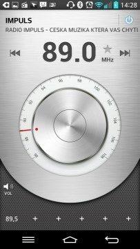 FM Rádio podporuje RDS
