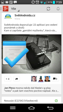 Sociální síť Google+