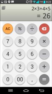Kalkulačka - základní funkce