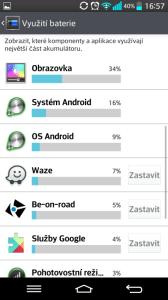 Systémové informace o baterii
