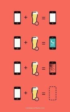 mobil pivo vtip