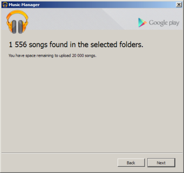 Informace o tom, kolik písniček se chystáte nahrát