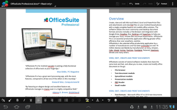 OfficeSuit Pro 7 word