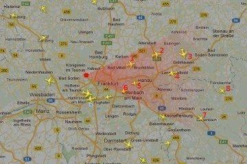 Aplikace ví, kde stojíte, kam se díváte a jaká letadla jsou kolem