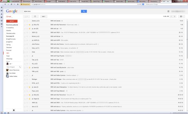 Všechna data jsou v bezpečí na našem Google účtu