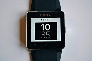 Sony SmartWatch 2 - dostupne ciferniky 2