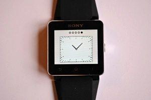 Sony SmartWatch 2 - dostupne ciferniky 5