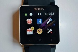 Sony SmartWatch 2 launcher