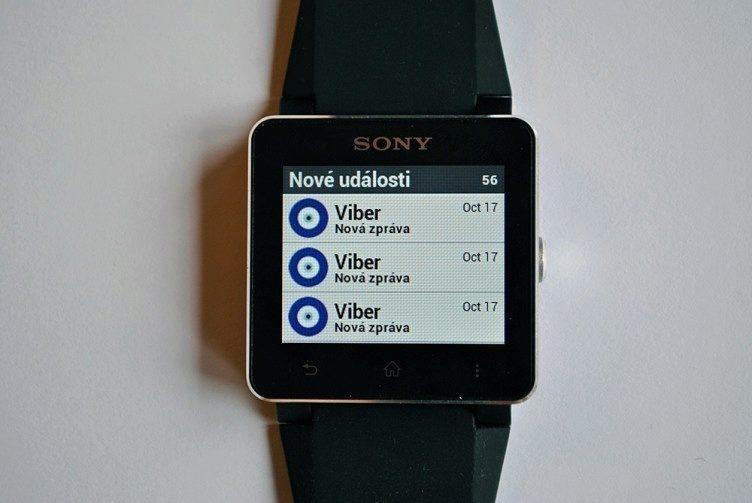 Sony Smartwatch 2 vás upozorní opravdu na vše