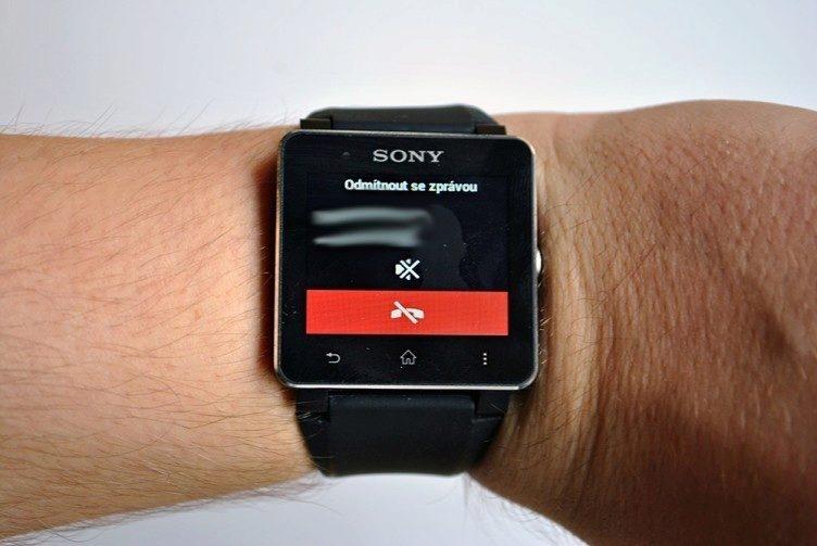 U Sony se bohužel budete muset spokojit pouze s notifikacemi ohledně telefonování