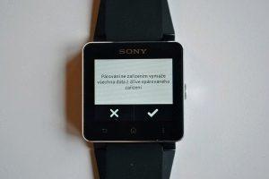 Sony SmartWatch2 parovani