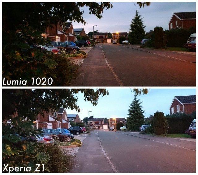 Sony-Xperia-Z1-vs-Nokia-Lumia-1020-dusk-640x565