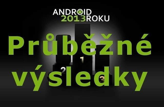 Android Roku 2013 – průběžné výsledkyi