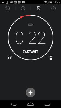 Hodiny - minutka