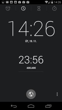 Hodiny - zobrazení času na více místech