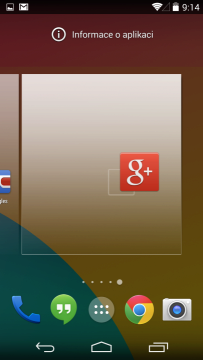 Vytažení ikony ze seznamu aplikací