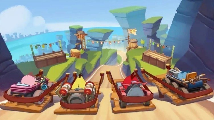 Angry-Birds-Go-downhill-racing-game