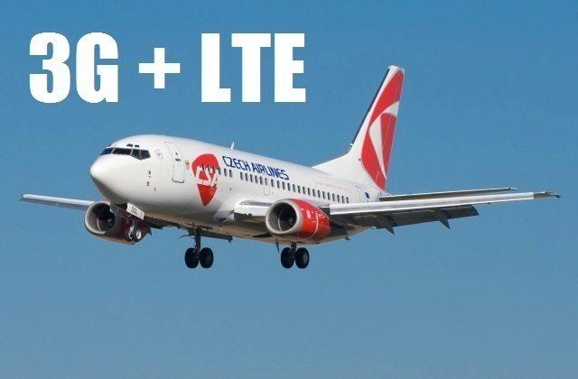 3G a LTE za letu