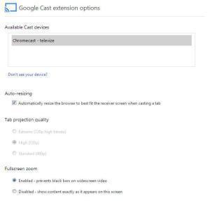 Chromecast - nastavení