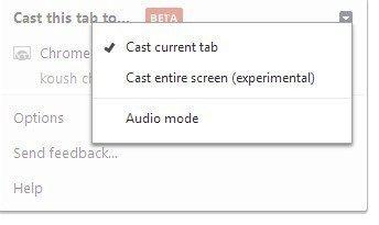 Chromecast - rozšíření
