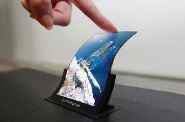 Flexibilní displej LG