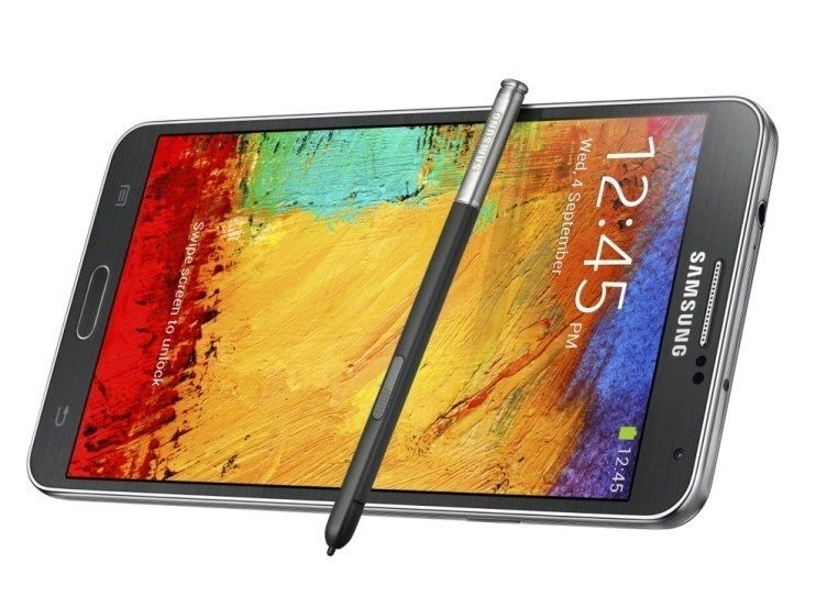Galxy Note3_024_front dynamic with pen1_Jet Black