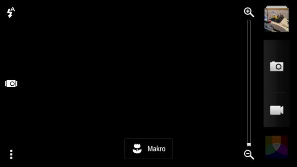 HTC One mini - aplikace fotoaparátu
