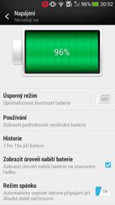 HTC One mini - baterie1
