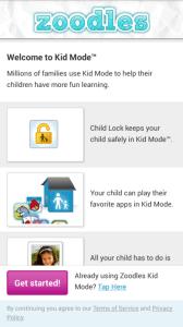 HTC One mini - Dětský režim